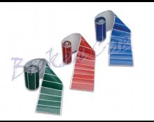 Tuchpflaster selbstklebend - Farben grün, rot, blau