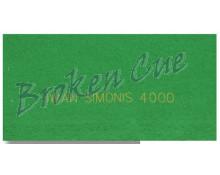 Snookertuch Simonis 4000- Farbe engl. grün