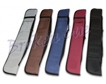 Queuetasche Lady - Farben, hell-grau, braun, blau, rot, schwarz (v.l.n.r.)