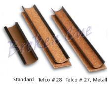 v.l.n.r. - Standard PVC, TefCo, Tefco Metall