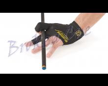 Billardhandschuh Predator Second Skin, schwarz-gelb