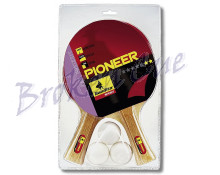 TT - Schläger Set Pioneer inkl. 3 Bälle