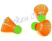 Speed-Badminton Ersatzbälle   (Set = 3 Stck.)