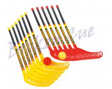 FunHockey Spar Set (12 Schläger + 12 Bälle)