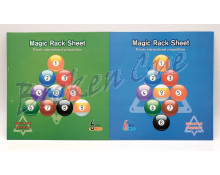 Aufbauschablonen Magic Rack Sheet  (Set)